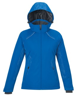 New Linear Ladie's Insulated Jackets With Print-