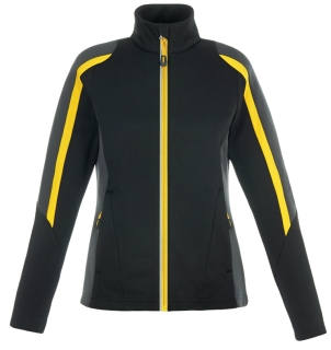 New Strike Ladie's Colour-Block Fleece Jackets-