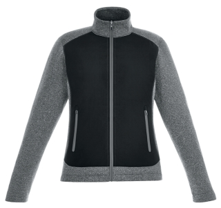 New Victory Ladie's Hybrid Performance Fleece Jackets-