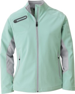 78621 Ladie's 3-Layer Soft Shell Jacket-
