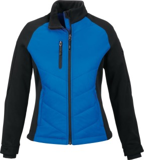 Epic Ladie's Insulated Hybrid Bonded Fleece Jacket-Ash City