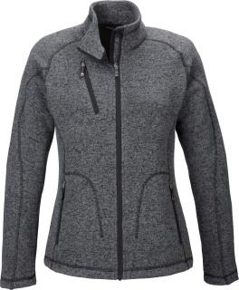 Peak Ladie's Sweater Fleece Jacket-