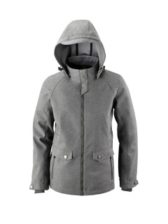 Uptown Ladie's 3-Layer Light Bonded City Textured Soft Shell Jacket-