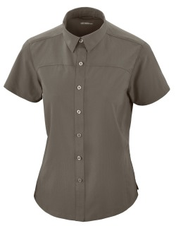 Charge Ladie's Recycled Polyester Performance Short Sleeve Shirt-