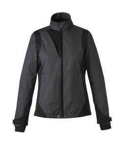 New Commute Ladie's 3-Layer Light Bonded Two-Tone Soft Shell Jackets With Heat Reflect Technology-