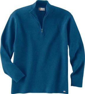 Men's Half-Zip Mock Neck Sweater-