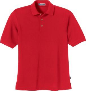 Men's Short Sleeve Pique Polo With Teflon-