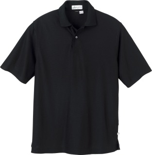 Men's Rayon (From Bamboo) Recycled Polyester Jacquard Polo-