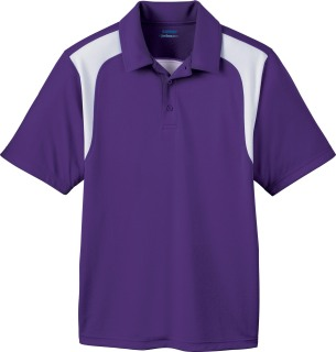 Men's Eperformance Color-Block Textured Polo-