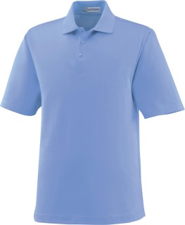 Men's Edry Silk Luster Jersey Polo-Ash City