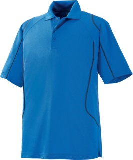 Men's Snag Protection Color-Block Polo With Piping-