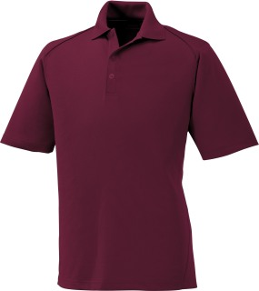 Men's Snag Protection Solid Polo-