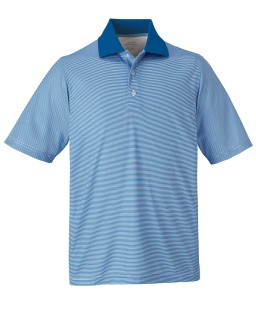 New Launch Men's Snag Protection Striped Polo