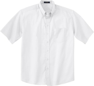Men's Short Sleeve Twill Shirt-