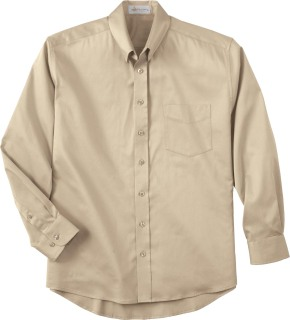 Men's Solid Stretch Shirt-