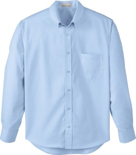 Men's Yarn-Dyed Wrinkle Resistant Dobby Shirt-
