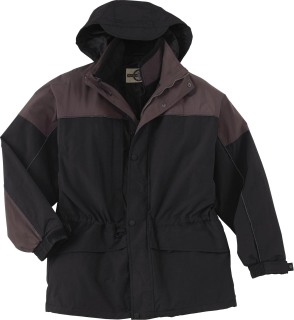 Men's 3-In-1 Two-Tone Parka-