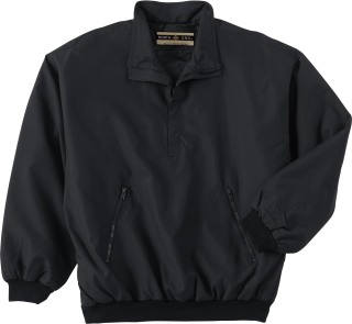 88012 Men's M•I•C•R•O Plus Half-Zip Windshirt With Teflon-