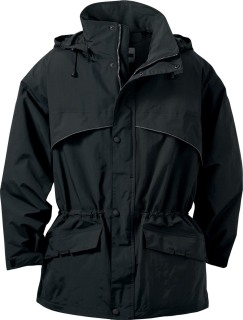 Men's Techno Performance Interactive Seam-Sealed 3/4 Length Jacket-Ash City