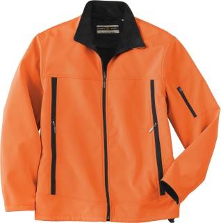 Men's Performance Brushed Back Soft Shell Jacket-