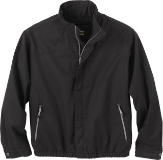 Men's Micro Twill Bomber Jacket-