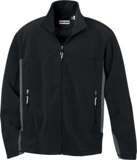 Men's Fleece Bonded To Brushed Mesh Full-Zip Jacket-