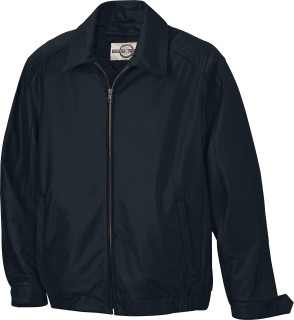 Men's Leather Bomber Jacket-