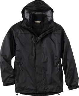 Men's 3-In-1 Techno Performance Seam-Sealed Hooded Jacket-Ash City