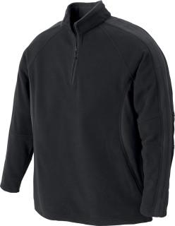 Men's Recycled Polyester Half-Zip Fleece Top-