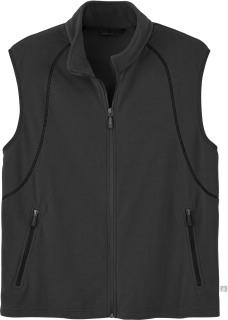 Men's Recycled Fleece Full-Zip Vest-