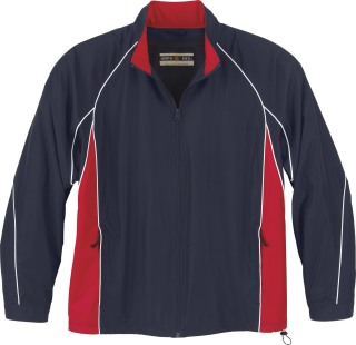 Men's  Woven Twill Athletic Jacket-