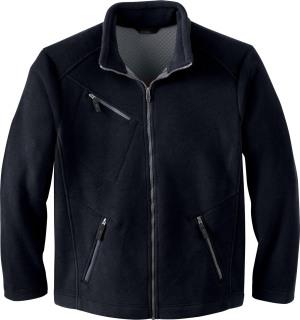 Men's Bonded Jacquard Fleece Jacket-