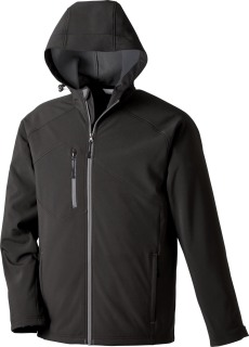 Men's Soft Shell Jacket With Hood-