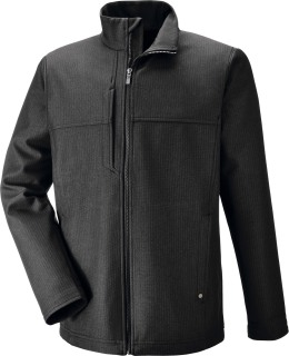 Men's Textured City Soft Shell Jacket-