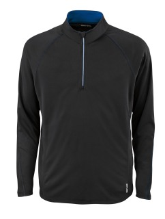 Radar Men's Half-Zip Performance Long Sleeve Top-