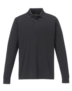 88192T New Pinnacle Core 365tm Men's Performance Long Sleeve Pique Polos-