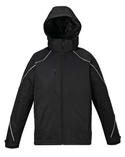 88196 New Angle Men's 3-In-1 Jacket With Bonded Fleece Liner-Ash City