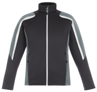 New Strike Men's Colour-Block Fleece Jackets-