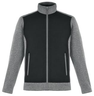 New Victory Men's Hybrid Performance Fleece Jackets-
