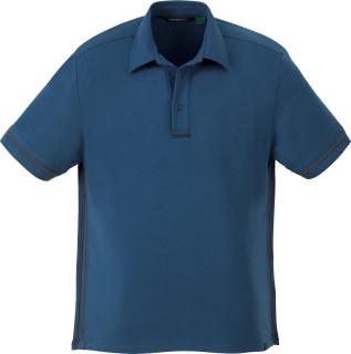Men's Organic Cotton/Spandex Jersey Polo-