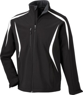88650 Men's Color-Block Soft Shell Jacket-