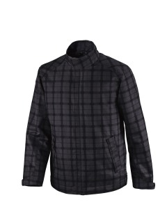 Locale Men's Lightweight City Plaid Jacket-