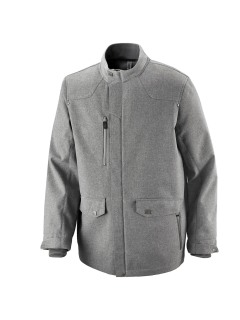 Uptown Men's 3-Layer Light Bonded City Textured Soft Shell Jacket-