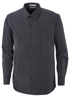 Boardwalk Men's Free 2-Ply 80's Cotton Striped Taped Shirt-