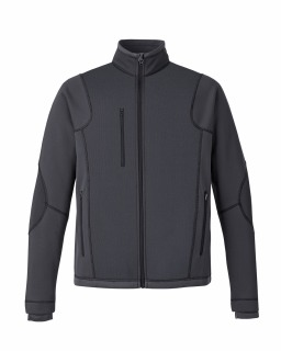 New Pulse Men's Textured Bonded Fleece Jackets With Print-