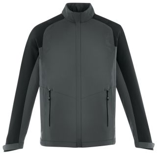 New Borough Men's Lightweight Jacket With Laser Perforation-