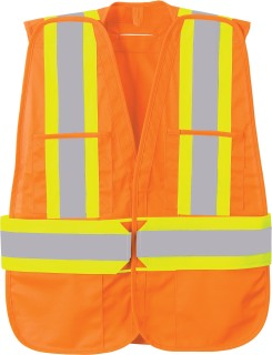 5-Point Tear Away Safety Vest-