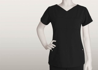 2 Pocket Soft V-Neck-Barco