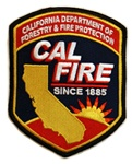 Cal Fire Patch-