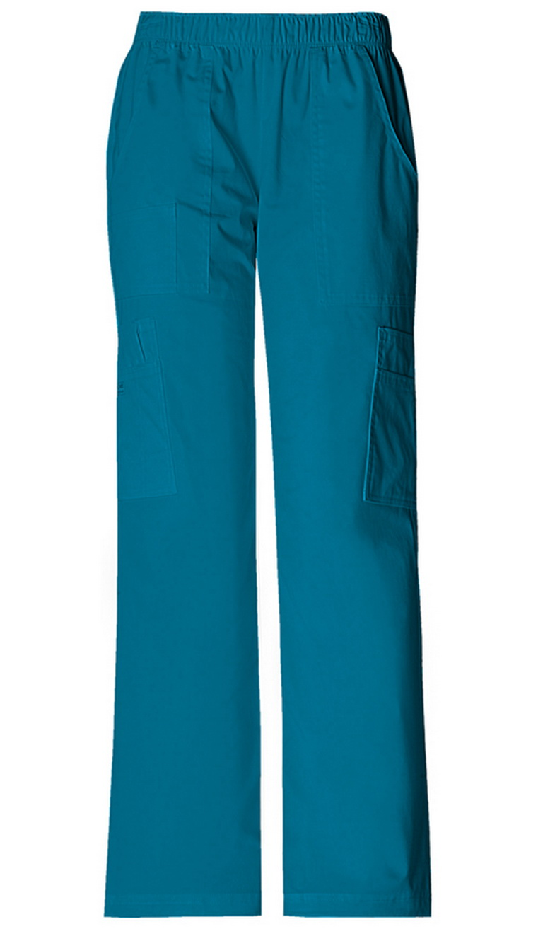 Mid Rise Pull-On Pant Cargo Pant-